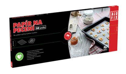 Obrázek Papír na pečení Alufix v krabičce - 33 x 42 cm / 50 ks