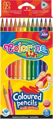 Obrázek Pastelky Colorino trojhranné - 12 barev