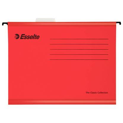 Obrázek Závěsné desky Esselte Classic Collection - červená