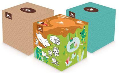 Obrázek Harmony kosmetické papírové kapesníky 3-vrstvé 60 ks