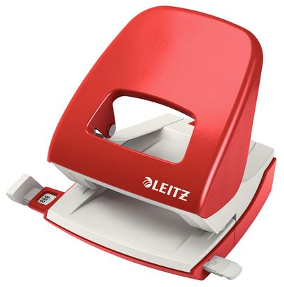 Obrázek Kancelářský děrovač Leitz 5008  -  červená