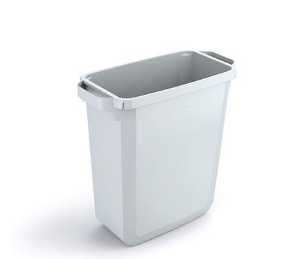 Obrázek Odpadkové koše Durabin 60 l - koš / bílá