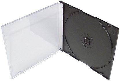 Obrázek Krabička na CD a DVD - krabička na CD slim / 1 ks