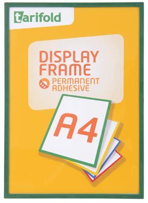 Obrázek Kapsy samolepicí Tarifold Display Frame - A4 / zelená
