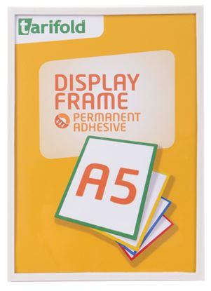Obrázek Kapsy samolepicí Tarifold Display Frame - A5 / bílá