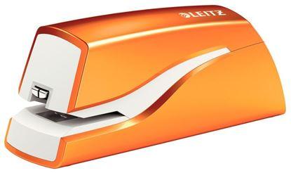 Obrázek Kancelářský sešívač elektrický Leitz WOW 5568 - oranžová