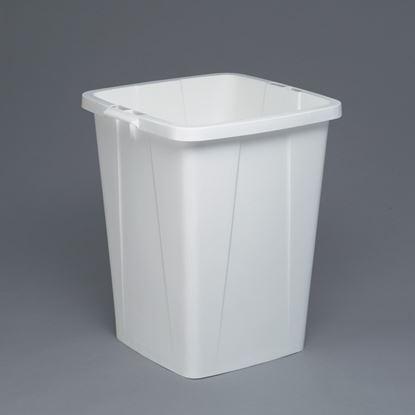 Obrázek Odpadkové koše Durabin 90 l - koš / bílá