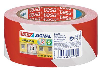 Obrázek Lepicí pásky Tesa značkovací - 50 x 66 / červeno - bílá