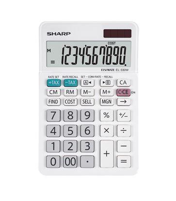 Obrázek Kalkulačka Sharp EL 330 W - displej 10 míst