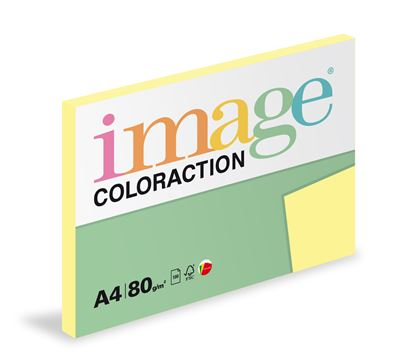 Obrázek Xerografický papír BAREVNÝ - Desert / pastelové žlutá / 100 listů / YE23