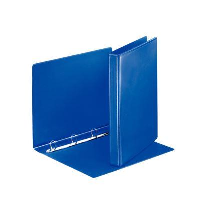 Obrázek Pořadač A4 kroužkový prezentační -  hřbet 3,8 cm -4 - kroužek / modrá