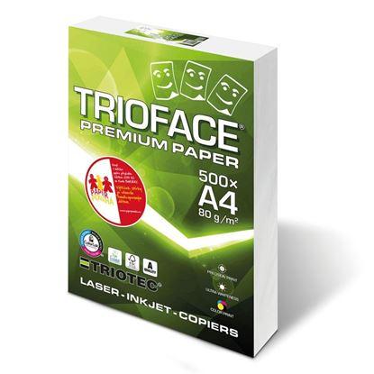 """Obrázek Xerografický papír TRIOFACE PREMIUM """"A"""" - A4 80 g / 500 listů"""