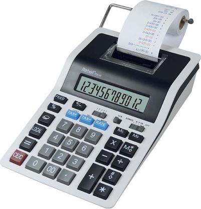 Obrázek Rebell PDC20 stolní kalkulačka s tiskem displej 12 míst