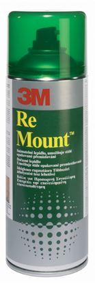 Obrázek Lepidla sprejová 3M - ReMount 400 ml