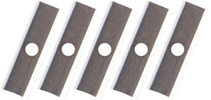 Obrázek Ořezávací strojek elektrický dvojitý -  náhradní nože / 5 ks