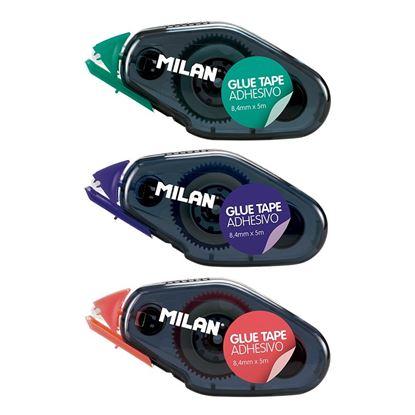 Obrázek Lepicí roller Milan permanentní - roller 8,4 mm x 5 m