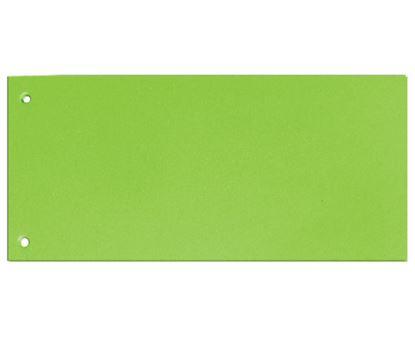 Obrázek Rozdružovací kartonové jazyky  - zelená / 100 ks