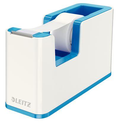 Obrázek Stolní odvíječ lepicí pásky Leitz WOW - modrá
