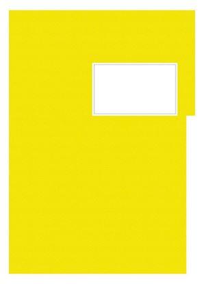 Obrázek Studentský speciál - A4 / náplň žlutá - linka / 50 listů
