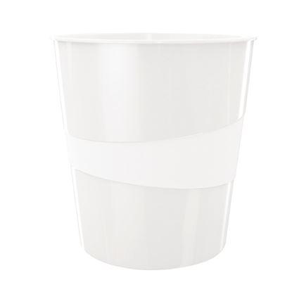 Obrázek Koš odpadkový WOW - bílá