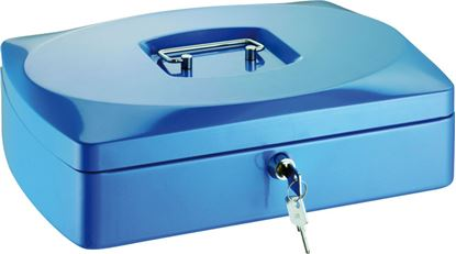 Obrázek Pokladny - modrá / 80 mm x 120 mm x 155 mm
