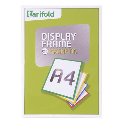 Obrázek Kapsy magnetické Tarifold Display Frame - A4 / bílá