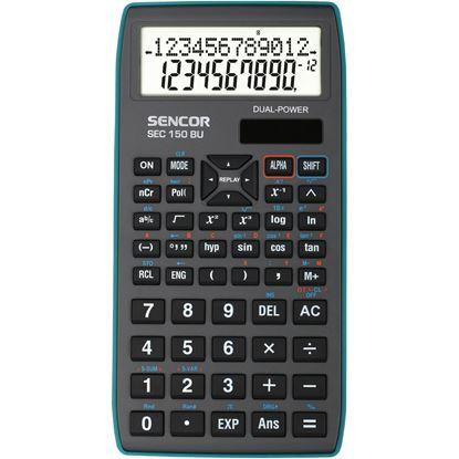Obrázek Sencor SEC 150 BU školní kalkulačka displej 10+2 místa