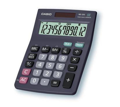 Obrázek Kalkulačka Casio MS 8 / 10 / 12 B - 20 B / displej 12 míst