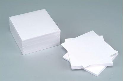 Obrázek Záznamní kostky bílé - 9 cm x 9 cm x 4,5 cm / nelepená vazba