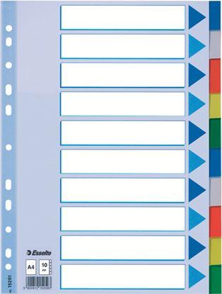 Obrázek Rozdružovač A4 plastový Esselte - 10 listů