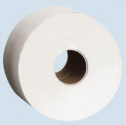 Obrázek Toaletní papír Jumbo bílý - průměr 230 mm