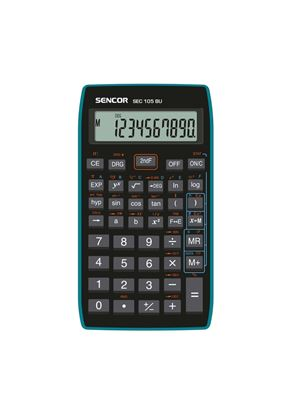 Obrázek Sencor SEC 105 BU školní kalkulačka displej 10 míst