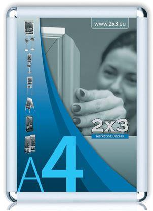 Obrázek Rám na reklamu - rám na reklamu A4 kulaté rohy