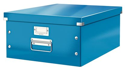 Obrázek Krabice Leitz Click & Store - L velká / modrá