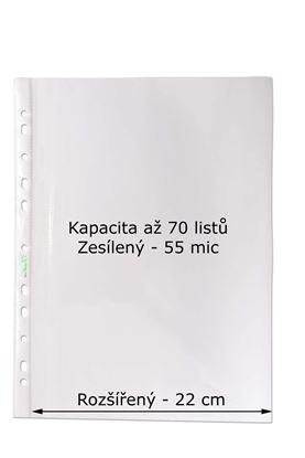 Obrázek Závěsný obal Copy - A4 čirý / 55 my / 100 ks