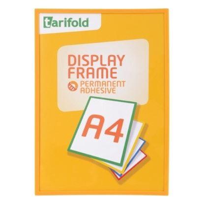 Obrázek Kapsy samolepicí Tarifold Display Frame - A4 / červená