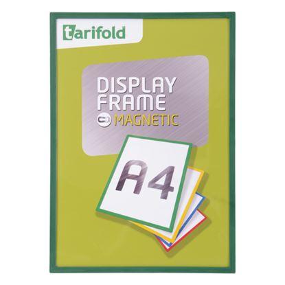 Obrázek Kapsy magnetické Display Frame - A4 / zelená