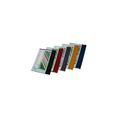 Obrázek Desky pro kroužkovou vazbu přední strana  -  A4 / modrá / 100 ks