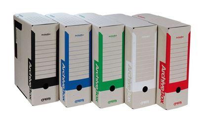 Obrázek Archivní box Emba A4 - hřbet 11 cm / červená
