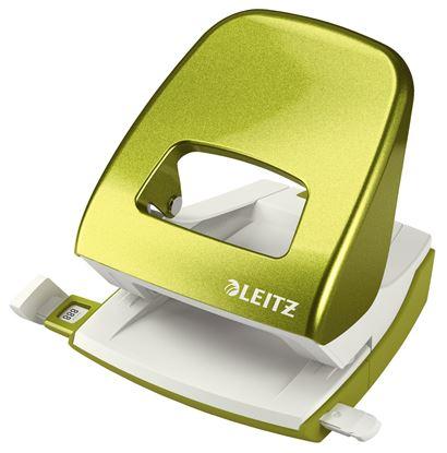 Obrázek Kancelářský děrovač Leitz 5008 - metalická zelená