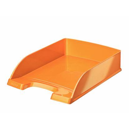 Obrázek Kancelářský box Leitz PLUS WOW - oranžová