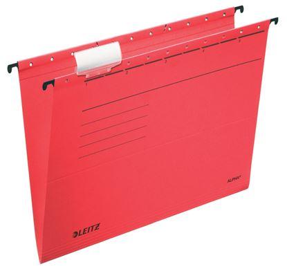 Obrázek Závěsné desky Leitz Alpha - červená