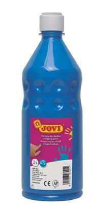 Obrázek Prstové barvy JOVI v láhvi - 750 ml / modrá