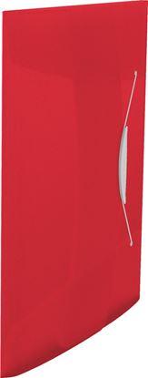 Obrázek Spisové desky A4 s gumou Vivida - červená
