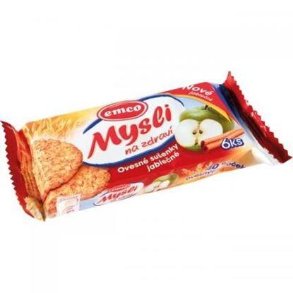 Obrázek Emco musli sušenky - jablečné / 60 g
