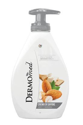 Obrázek Mýdla tekutá Dermomed -  mandle a bambucké máslo / 300 ml