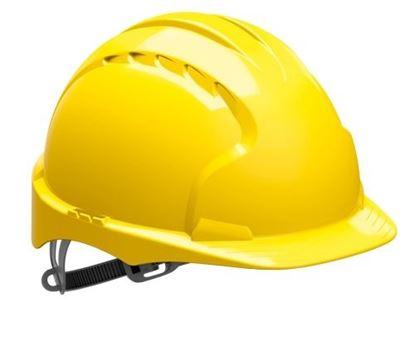 Obrázek Přilba ochranná EVO 6 - žlutá
