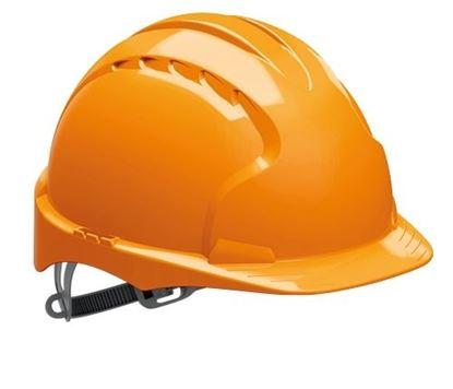 Obrázek Přilba ochranná EVO 3 - oranožvá