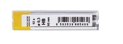 Obrázek Tuhy do mikrotužek KOH-i-NOOR - 0,3 mm / HB