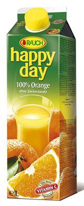 Obrázek Džus Happy day Rauch 1 l - pomeranč